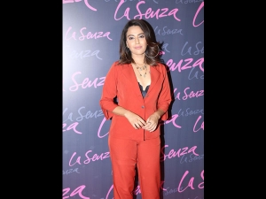 Swara Bhasker In An And Pantsuit For The La Senza Event
