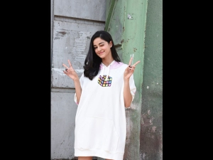 Ananya Panday In A Street Style Sporty Dress For Soty 2 Promotions