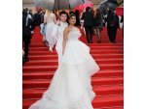 Priyanka Chopra Jonas In A White Gown At Cannes
