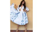 Tara Sutaria In A Blue Floral Dress For Soty 2 Promotions