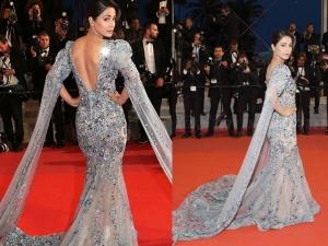 Hina Khan In A Ziad Nakad Gown For The Cannes Film Festival