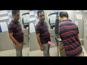 He Flashed His Manhood In Atm Only To Get Caught