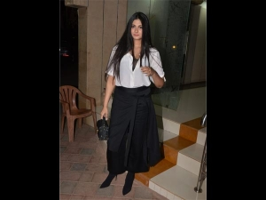 Rhea Kapoor Spotted In A Trendy Avatar At A Friend S Party