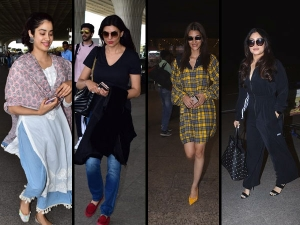 Bollywood Divas Spotted At The Airport In Simple Looks