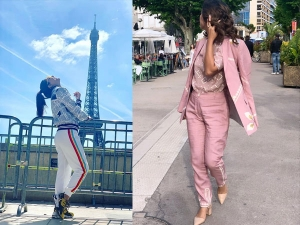 Hina Khan Begins Her Cannes Journey With These Two Outfits