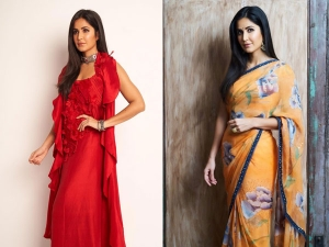 Katrina Kaif In Stunning Outfits For Bharat Promotions