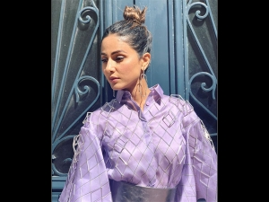 Hina Khan In A Lavender Gown At Cannes Film Festival