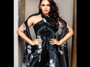 Huma Qureshi In A Floral Ralph Lauren Jumpsuit For The Chopard