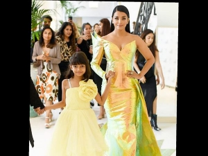 Aishwarya Rai Bachchan In A Jean Louis Sabaji Gown At Cannes