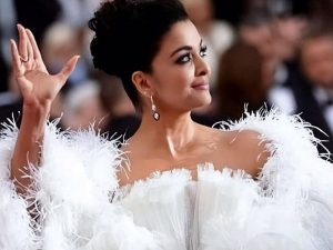 Aishwarya Rai Bachchan In A White Gown At Cannes Film Festival