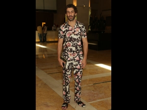 Jim Sarbh S Floral Attire For Ficci Flo Event