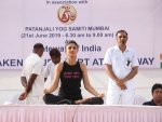 Mainstreaming Yoga Outfits On International Yoga Day