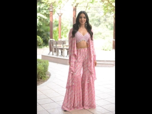 Kiara Advani In A Pink Gharara For Kabir Singh Promotions