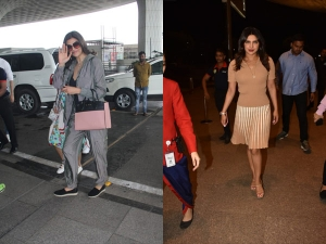 Priyanka And Sushmita Spotted At Airport In Comfy Outfits