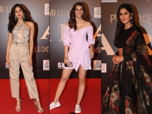 Divas At The Special Screening Of Bharat