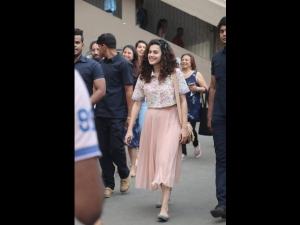 Taapsee Pannu Spotted In A Floral And Pretty Ensemble
