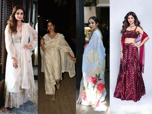 Bollywood Divas Papped In Ethnic Outfits