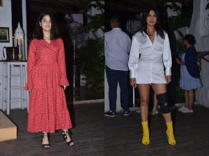 Priyanka Chopra Jonas And Zaira Wasim At The Wrap Up Party
