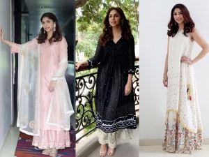 Sharmin Segal In Three Ethnic Outfits Photoshoot