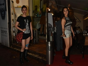 Aditi Rao Hydari And Nushrat Bharucha In Casual Outfits