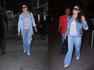Kareena Kapoor Khan Wore The Same Outfit To The Airport