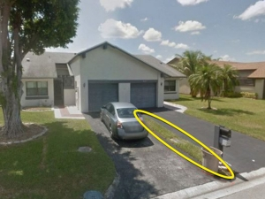 Man Pays 9100 Dollar For A Florida Villa Actually Bought 30cm Wide Of Lawn