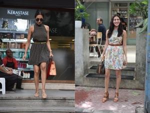 Malaika Arora And Amyra Dastur Spotted In Beautiful Dresses