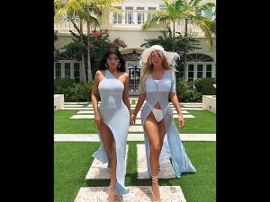 Kylie Jenner And Anastasia Karanikolaou S Insta Photoshoot