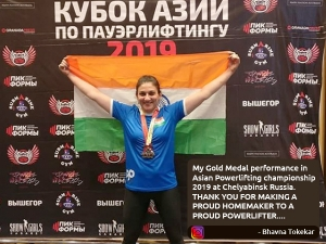 Bhavna Tokekar 47 Year Old And Mother Of Two Wins 4 Golds In Powerlifting