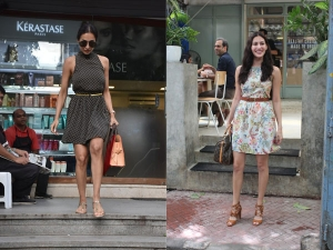 Malaika Arora And Amyra Dastur Spotted In Beautiful Dresses