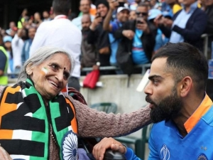 Charulata Patel 87 Year Old Indian Cricket Fan Who Stole The Show