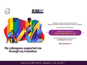 Indias First Job Fair For The Lgbtq Community