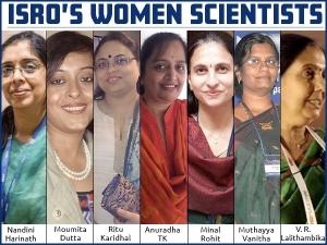 Isro Rocket Women Behind Mom Chandrayaan2 And Gaganyaan