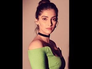 Sonam Kapoor Ahuja S Photoshoot In A Green Dress