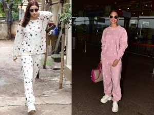 Alia Bhatt And Kriti Kharbanda Wowed In Pyjama Sets