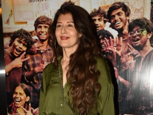 Sangeeta Bijlani In A Green Outfit For The Super 30 Screening