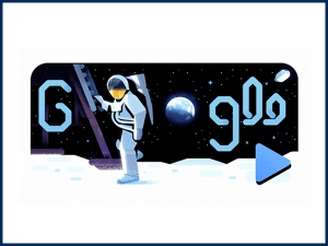 Google Doodle Celebrates 50th Anniversary Of Moon Landing