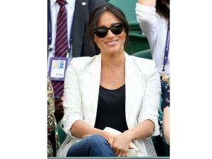 Meghan Markle Stuns In A Non Royal Avatar At Wimbledon