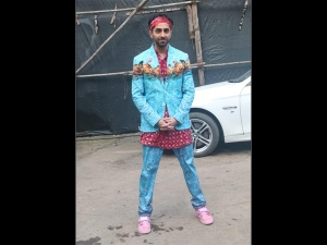 Ayushmann Khurrana S Quirky Avatar For The Dream Girl Song Launch Event