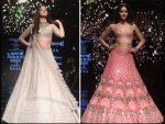 Ananya Panday Showstopper At The Lakme Fashion Week Winter Festive