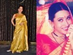 Kangana Ranaut And Karisma Kapoor Saris On The National Handloom Day