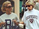 Hailey Bieber S Princess Diana Photoshoot For Vogue Paris