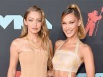 Gigi Hadid And Bella Hadid Twin In Coordinating Neutrals At The Vmas