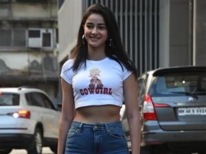 Ananya Panday Spotted In A Retro Avatar
