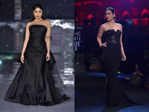 Kareena Kapoor Khan In Black Gowns For Lfw