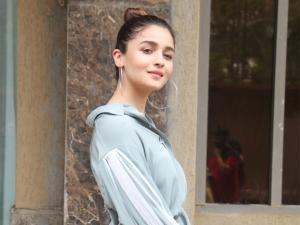 Alia Bhatt In A Chic Attire For The Prada Song Launch