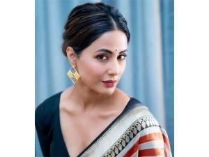 Hina Khan Stuns In An Elegant Sari
