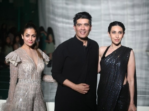 Karisma Kapoor Khushi Kapoor And Other Celebs At Manish Malhotra S Lfw 2019 Show