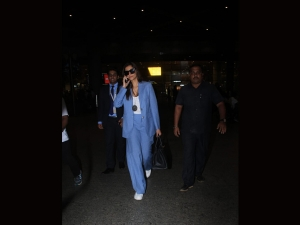 Sonam Kapoor Upped The Airport Fashion Games In Formals
