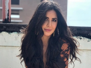 Katrina Kaif Looked Stylish In A Floral Dress Photoshoot